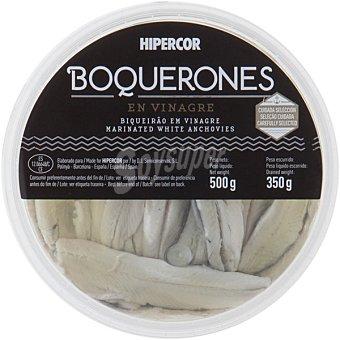 Hipercor Boquerones en vinagre Tarrina 350 g neto escurrido