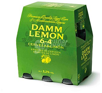 Damm Damm Lemon Botella (pack 6 x 25cl) 150 cl
