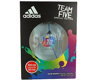 Adidas Colonia para hombre Five Team Bote 50 ml