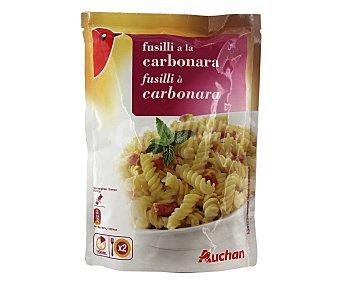 Auchan Fusilli a la carbonara Sobre de 145 grs