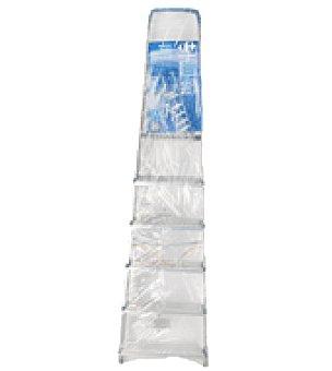 Carrefour Escalera aluminio 6 peldaños