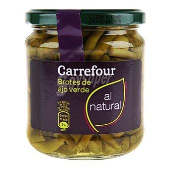 Carrefour Brotes de ajos verdes al natural 180 g