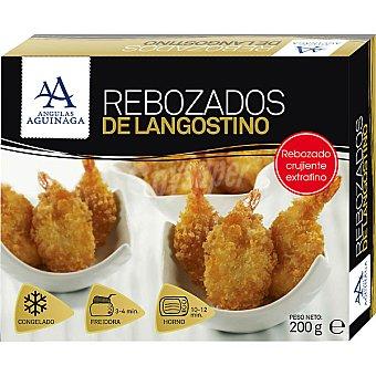 Angulas Aguinaga Rebozados de langostinos crujiente y extrafino Estuche 200 g