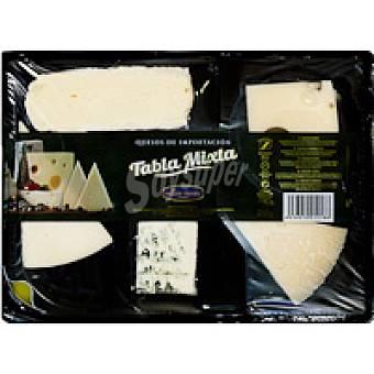 Millan Vicente Tabla de quesos surtidos mixtos Bandeja 250 g