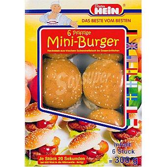 Hein mini hamburguesas envase 300 g