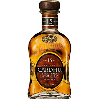 Cardhu Whisky 15 años Botella 70 cl