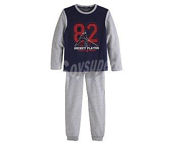 In Extenso Pijama largo de niño de terciopelo talla 3.