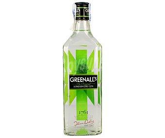 GREENALL'S Ginebra inglesa tipo London dry Botella de 70 centilitros