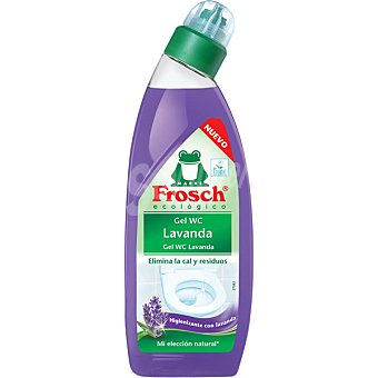 Froggy Desinfectante WC gel lavanda ecológico  Botella 750 ml