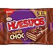 Chocolatina superchocolate Pack 5 x 48 g Huesitos Valor