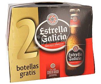 Estrella Cerveza especial Pack de 12 botellines de 25 centilitros