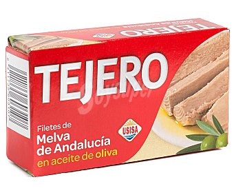 Tejero Filetes de melva de Andalucía en aceite de oliva  Lata 78 g (peso neto escurrido)