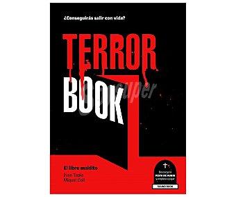 Lunwerg Terror Book: El libro maldito, iván tapia. Género: acertijos, juegos. Editorial Lunwerg.