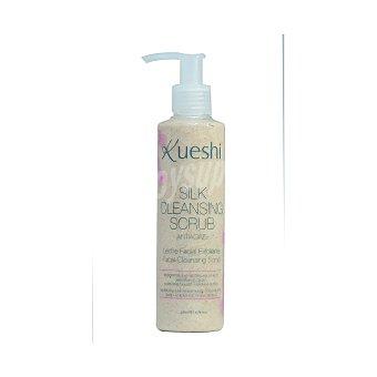Leche facial exfoliante antiedad silk cleasing scrub Kueshi 200 ml