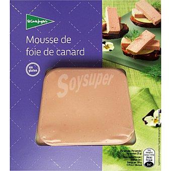 El Corte Inglés Mousse de hígado de pato envase 90 g Envase 90 g