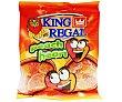 Corazones de melocotón Bolsa de 100 gr King Regal