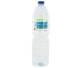 Auchan Agua mineral Botella de 1,50 litros