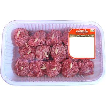 CASA PENALVA Albóndigas de ternera Bandeja 480 g