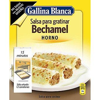 GALLINA BLANCA MI SALSA Preparado para hacer salsa bechamel horno Sobre 52 g