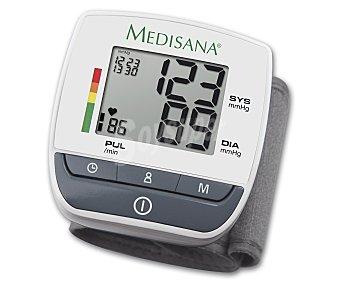 Medisana bw 310 Tensiómetro de pulso pantalla fácil lectura, indicador arritmias, 60 memoria x 2 usuarios, semaforo de resultados