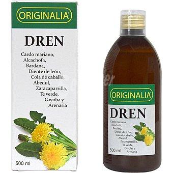 ORIGINALIA Dren bienestar intestinal y depurativo con cardo mariano alcachofa y diente de león  envase 500 ml