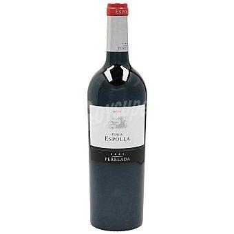 Finca Espolla Vino tinto DO Cataluña Botella 75 cl
