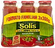 Tomate frito Pack 3x360 g Solís