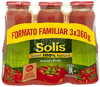 Solís Tomate frito Pack 3x360 g