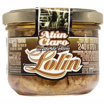 Lolín Atún claro en aceite de oliva Tarro 240 g
