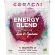 Energy Blend pulpa de açaí y guaraná ecológico 100% natural y sin gluten 4x100 G Envase 400 g Coracai