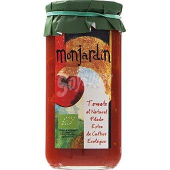 MONJARDIN Tomate al natural pelado de cultivo ecológico frasco 400 frasco 400 g neto escurrido