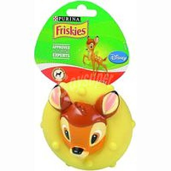 Friskies Purina Perro juguete disney bambi platillo 1 unidad