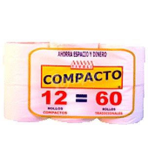 Tivoli Papel higiénico compacto 12 rollos
