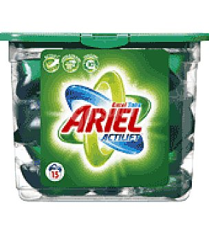 Ariel Detergente lavadora Excel Tabs 15 c
