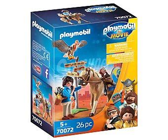 PLAYMOBIL The Movie 70072 Conjunto de juego Marla con caballo y accesorios, The Movie 70072, playmobil.