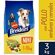 Comida para perros adultos de raza pequeña a base de pollo 3 kg Brekkies Affinity