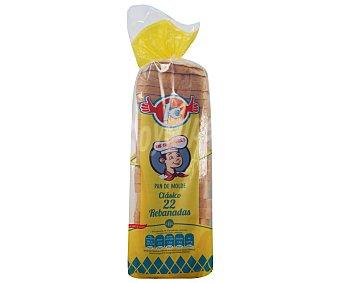 Panadería Los Compadres Pan Molde para Sándwich 510 Gramos