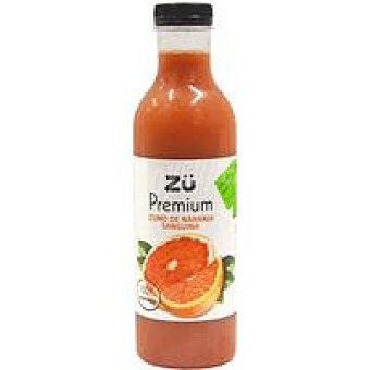 Premium Zumo de naranja sanguina ZÜ Botella 75 cl