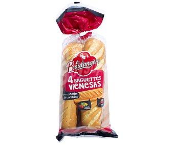 La Boulangere Baguettes vienesas 340 g