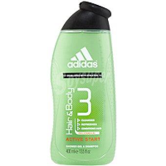 ADIDAS Sport Gel hair&body Bote 400 ml