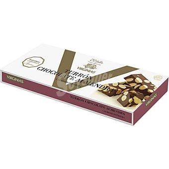 VIRGINIAS El Taller Turrón de chocolate con almendras Tableta 200 g