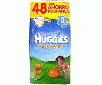 Huggies Pañal Talla 5 Paquete 48 unid
