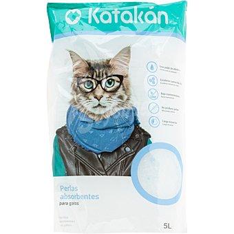Katakán Perlas absorbentes para gatos envase 5 l envase 5 l