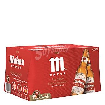 Mahou Cerveza 5 estrellas Pack 24x25 cl