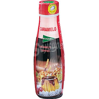 El Corte Inglés Sirope de caramelo Botella 250 g