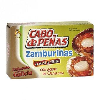 Cabo de Peñas Zamburiña salsa vieira Lata 120 g