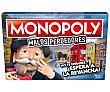 Juego de mesa de gestión Monopoly para malos perdedores, de 2 a 6 jugadores, Gaming. Hasbro Gaming