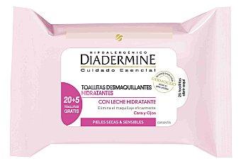 Diadermine Diadermine Toallitas Desmaquillantes Hidratantes 20 unidades