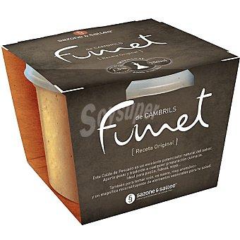SAZONE & SALTEE Fumet de Cambrils receta original Tarrina 750 ml