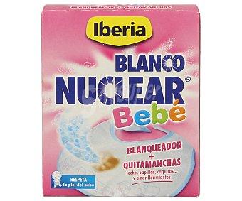 Iberia Blanqueador mas quitamanchas (leche, papillas, caquitas y amarilleamientos) respeta la piel del bebé blanco nuclear bebé de 6 unidades de 35 gramos